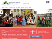Tablet Preview of northlew.devon.sch.uk